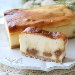 キャラメルチーズケーキとプリン大福♪