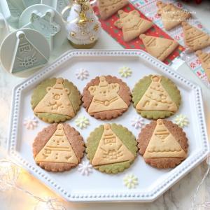 クリスマスクッキー&チョコショートケーキ♪