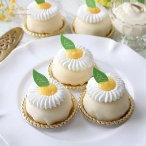 レモンチーズクリームのケーキ大福