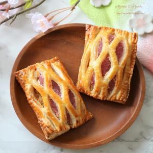 桜パイと桜餅