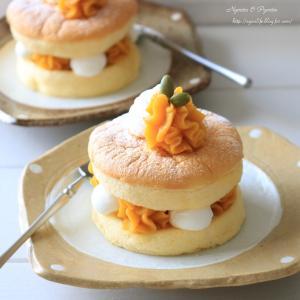 かぼちゃあんのカステラサンドケーキ