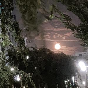 8年ぶりの中秋の名月と満月の夜に