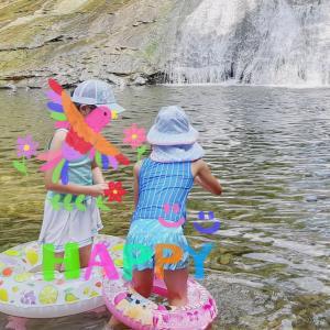 川遊びで三密回避♪小学生の子連れママが持っていってよかった持ち物3選。