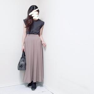 主役はベージュ♪30代ママが着回すシンプル春ファッション