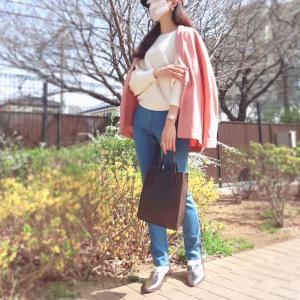 【お出かけが楽しくなる大人ピンクコーデ】気分が上がる春の大人ファッション