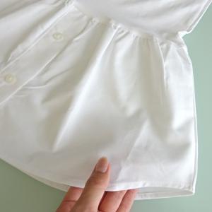 フェイクレイヤードコーデが作れる着け裾♪背中チラ見え防止にもなる重ね着風アイテム