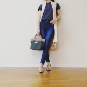 790円セール!UNIQLOのクルーネックTシャツのサイズ感と30代ママの春夏コーデ♪
