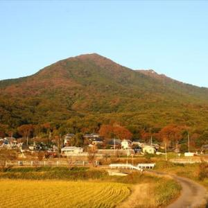 秋の筑波山。
