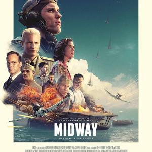 全米映画ランキング(11/8~11/10)太平洋戦争を映画化した「MIDWAY」が初登場1位でランクイン!その他、3本の作品が初登場!【予告編あり】