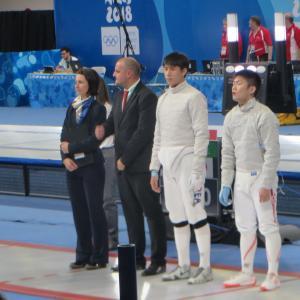 私の #ユースオリンピック #フェンシング で始まりました。