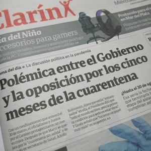 アルゼンチン強制予防隔離措置は8月30日まで延長か(もうすぐ5か月になります)