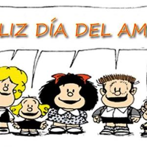 !FELIZ DIA DELAMIGO!友達の日みんないつもありがとう!アルゼンチンは7月20日は友達の日です。