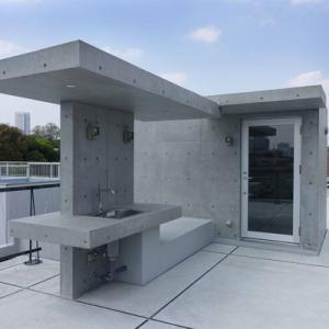 屋上のオブジェ