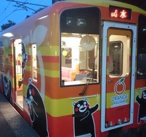 サイクルトレイン試験運行開始!鹿児島のオレンジ鉄道