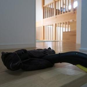 【無垢板との相性抜群✨ケルヒャーお掃除実況】スチーム効果で無垢の床がふっくら艶々♡