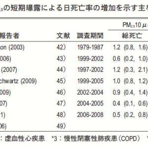 6:微小粒子状物質(PM2.5)の健康影響について