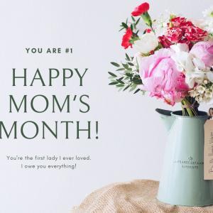 2020年は「母の日」ではなく「母の月」。5月は大切な母を思い、感謝する月にしよう【思い】