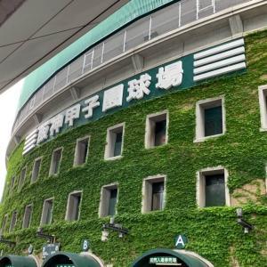 甲子園での交流戦を楽しむために、関西に行ってきます!【旅】