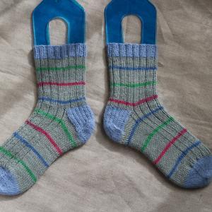 addi NOVELでopal基本の靴下を編み、メリヤスはぎをマスター!