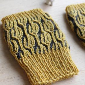 ブリオッシュ編みにチャレンジ