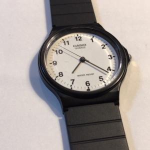 チープカシオの腕時計を自分で電池交換