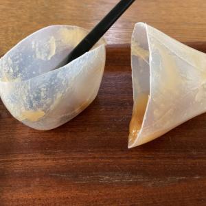 【使い切る】結晶化して固くなったハチミツ