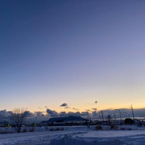 【今日は冬至】北海道も晴れ、、土星木星、見えました!
