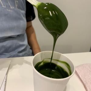美味しい抹茶ペーストはかき氷連想!