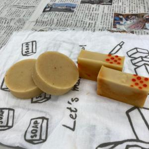 SBS学苑藤枝校で柑橘ピールの石けん作り