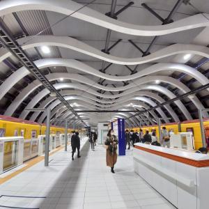 銀座駅渋谷駅。