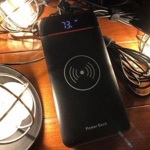 エジソンストリングライト用に大容量モバイルバッテリーをゲット!!