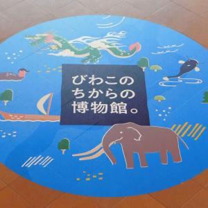 琵琶湖博物館に行ってきました。
