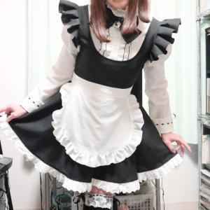 2021年初変身はニャンニャンメイド服で(=^▽^=)その3