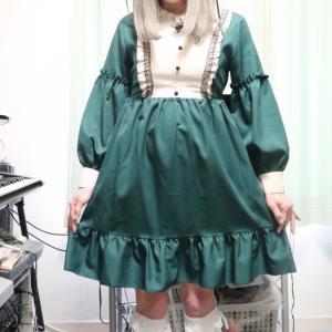緑のロリィタ風ワンピで変身っ☆後編