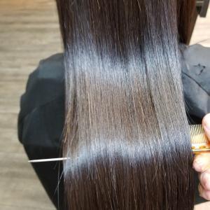 綺麗な髪の毛ってテンションあがりますか?