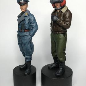 ホネミッツプロダクツ シュトラール陸軍将校(とおまけ)完成
