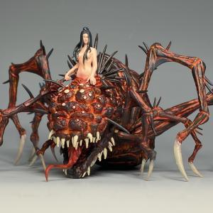 メガハウス 混沌の魔女クラーグ その3(完成)