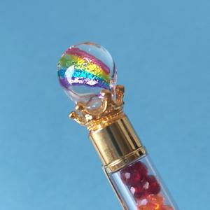 レインボーオルゴナイトボールペン、もうすぐ発売