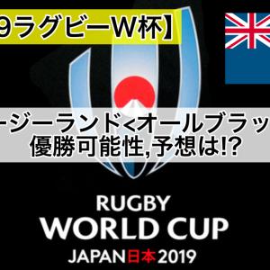 【2019ラグビーW杯】ニュージーランド/オールブラックス優勝可能性,予想は!?