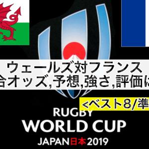 【ラグビーW杯2019】ウェールズ対フランス試合予想オッズ,強さ,ランキング評価は!?