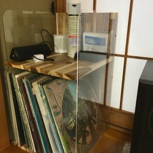 LPレコードラック 完成