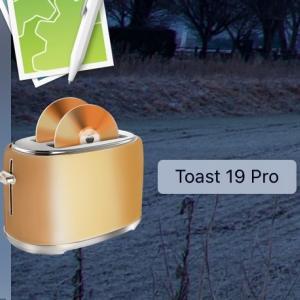 Toast 19 フリーズしてBlu-rayが焼けない