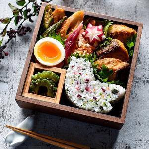 4/21 鮭のカレー味噌マヨ焼き弁当とお弁当現場動画♪