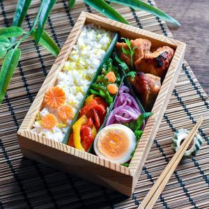 9/1 BBQチキン弁当と前回のお弁当の詰め方動画♪