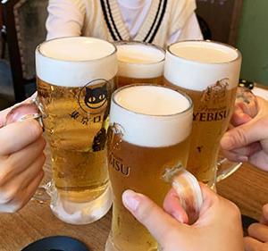 4ヶ月ぶりの昼飲み。恵比寿の #東京ロビン にて!