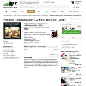 新LP一枚5ユーロを切る