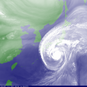 気象庁「すまん。お前らに伝え忘れたことがある。台風20号、今夜上陸するんだ」紀伊半島沖付近