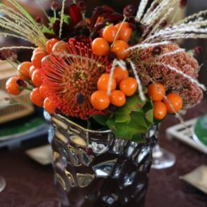 テーブル花のこと・・・