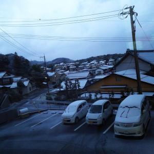 平成最後の寒波が来たーっ!