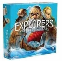 エクスプローラーズ・オブ・ザ・ノースシー Explorers of the North Sea ボードゲーム